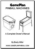 Game Plan Pinball Owner's Manual